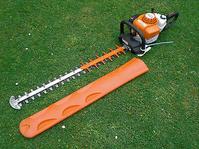 "Real Nice Stihl HS 82 32"" Blade Double Sided Swivel Handle Hedge Trimmer"