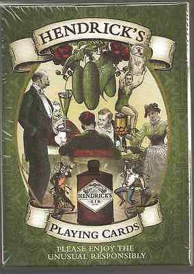 Hendrick's Gin Playing Cards - New Unopened Pack