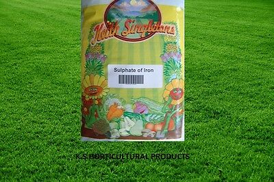 2kg SULPHATE OF IRON (FERROUS SULPHATE) MOSS CONTROL, LAWN GREEN UP TONIC
