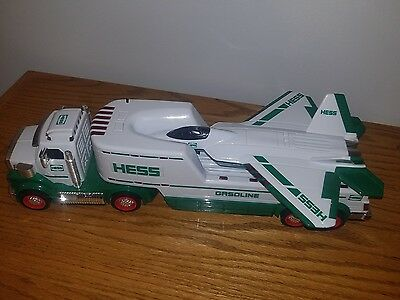 Hess Truck with fighter Jet