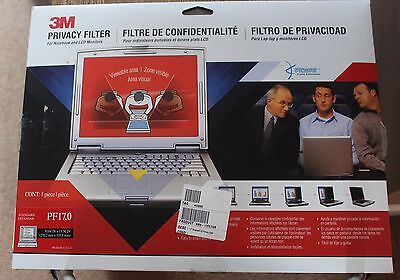"3M PRIVACY FILTER 17"" fits Standard monitor/laptop PF17.0"