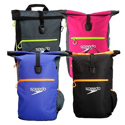 Speedo Team Rucksack III Bag Swimming Training Gym Kit Sports Backpack