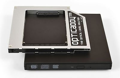 Opticaddy SATA-3 second HDD//SSD Caddy for Toshiba Satellite P755 P770 P770D P775