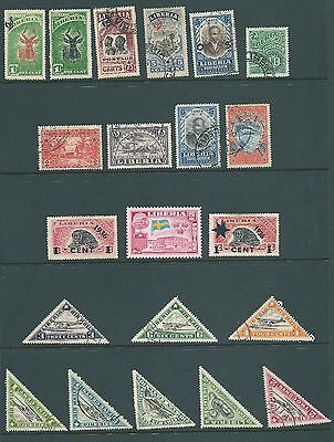 LIBERIA - Mint & used stamp collection including overprints