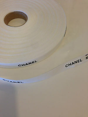 Chanel classic white ribbon 3 meters (300cms) 2.5 cm wide - New