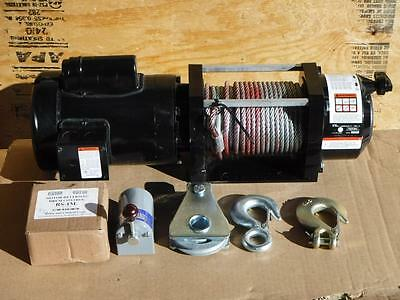 New DAYTON 4ZY95 3000lb Electric Winch 1HP 115 Volt FAST SHIPPING Truck Trailer