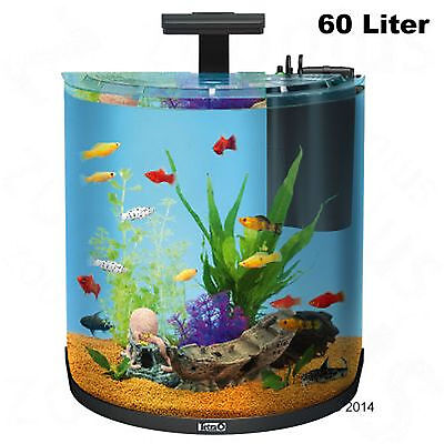 Tetra AquaArt Explorer Line Halfmoon Aquarium Complete Set 30 60 Liters Aquatic