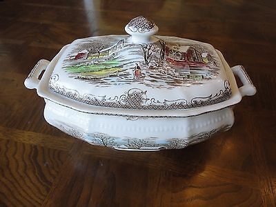 "SHAKESPEARE'S SONNETS 9"" SERVICE BOWL, WINTER XCVII BY KENSINGTON, R2815, No Tax"