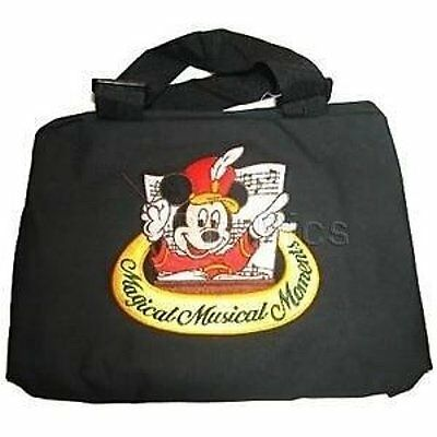 Magical Musical Moments Disney Pin Trading Bag Embroidered Mickey Mouse