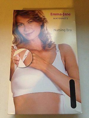 NEW Emma-Jane Maternity Nursing Bra 38B-DD BLACK