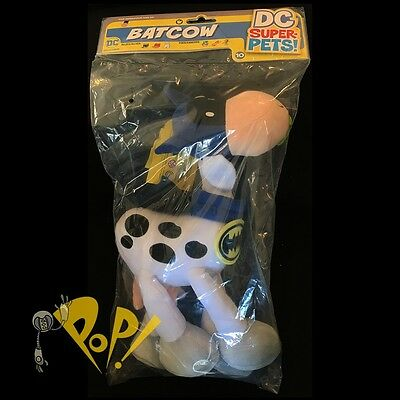 "DC Super Pets BATCOW 13"" Plush Figure DC Collectibles COMICS New Art Baltazar!"
