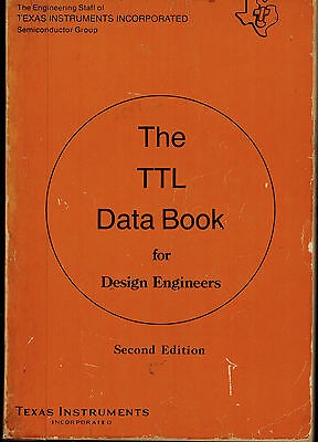 TEXAS INSTRUMENTS Data Book 1976 TTL Data Book for Design Engineers 2nd Edition