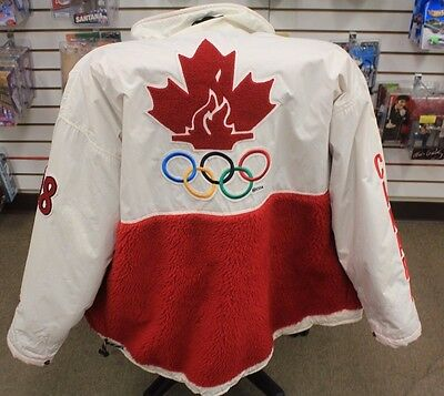 1998 Nagano, Japan Roots Canadian Olympic Team Participants Jacket