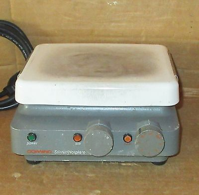Corning PC-320 Laboratory Hot Plate HotPlate Stirrer Works Great