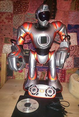 WOWWEE RS Media Programmable Interactive Robot with remote and editing suite
