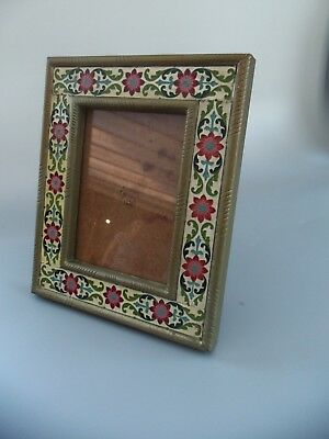 Repro Vintage Matching Pair Of Wall Mounted Photo Frames Portrait With Glas