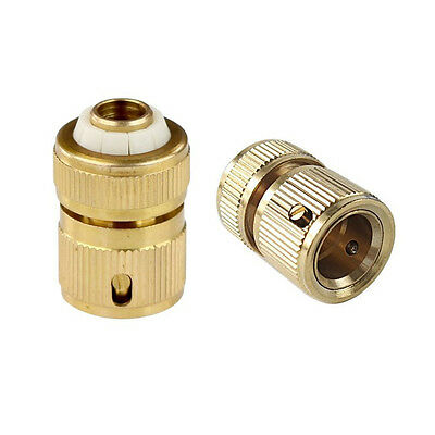 BG4161 1/2 Inch Copper Hose Quick Connector Garden Water Pipe Connector Faucet
