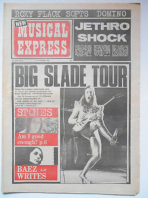 NME 28 April 1973 - Slade/Lou Reed-Nick Kent Interview/Rolling Stones/Roxy Music