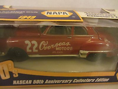 Red Byron #22 Overseas Motors 1949 Olds NAPA Series Action 1/24 NASCAR Diecast