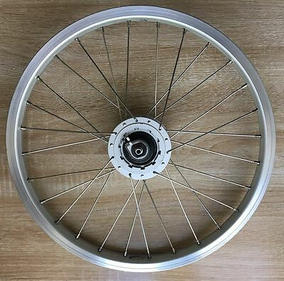 Brompton Shimano Dynamo Front Hub Wheel + Front LED Light WORLDWIDE SHIPING