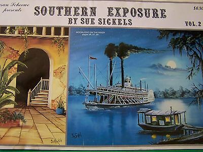 Southern Exposure V2 By Sue Sickels 1987 Scheewe Oil Landscapes Tole Paint Book