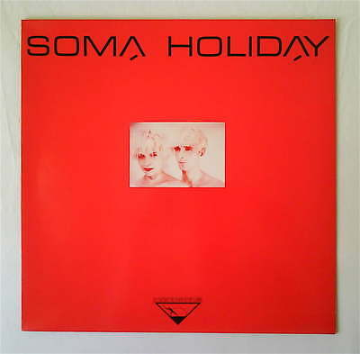 "Soma Holiday ‎– Shake Your Molecules 12"" EP 1984 RARE MINIMAL ELECTRONIC SYNTH"