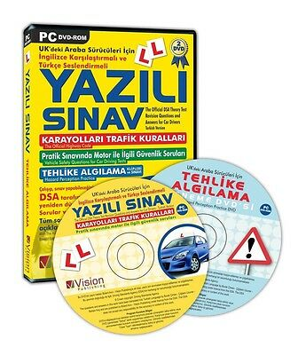 Theory Test Cd/Dvd (English-Turkish)