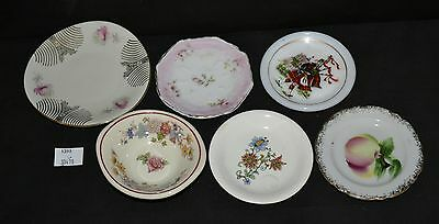 ThriftCHI ~ Unmarked Butter Pat Dishes, Salt Dip, and Demitasse Saucer