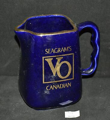 ThriftCHI ~ Ceramic Seagram's VO Canadian Whiskey Pitcher