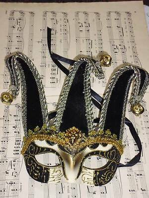 Mens/male Masquerade Mask Jester Venetian  Style Party/fancy Dress A