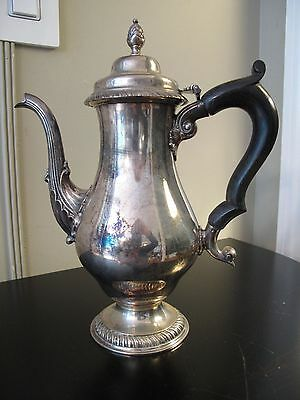 ANTIQUE STERLING SILVER COFFEE TEA POT HOWARD & CO. NY Teapot Marked 1004