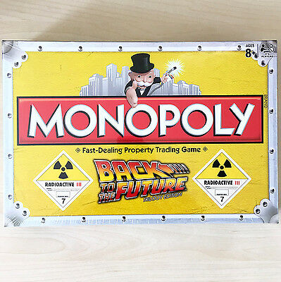 New Monopoly BACK TO THE FUTURE Trilogy Edition Board Game McFly Sealed