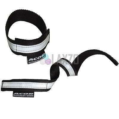 Acor 3M Reflective Bike Bicycle Clips Fastening Trouser Bands