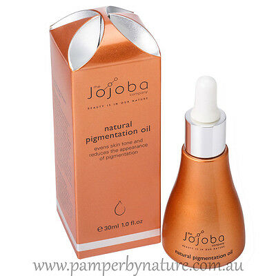 The Jojoba Company - 100% Natural Jojoba Blend - Natural Pigmentation Oil 30ml