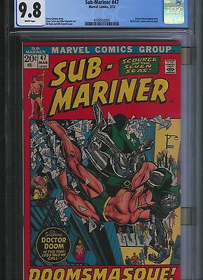 Sub-Mariner # 47 CGC 9.8 White Pages. UnRestored