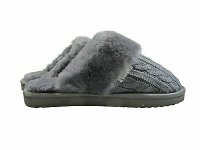 Real Aus Ugg Boots - Ladies Knit Slippers - U/00N