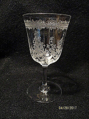 "Lafayette by Baccarat 4 3/4""  3 oz. White Wine Goblet   Circa: 1900"