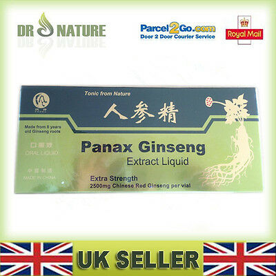 6×Panax Ginseng Extract Natural Oral Liquid Strengthening the immune system