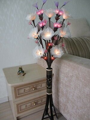 Exclusive floor lamps in the form of a bouquet of flowers !