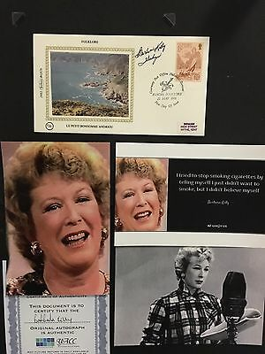 Barbara Kelly hand signed first day cover