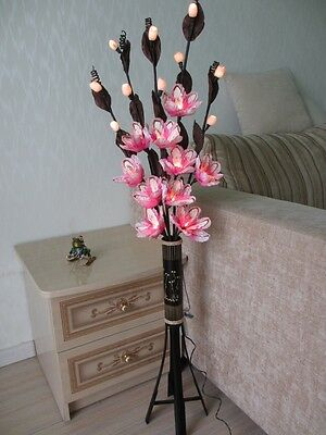NEW! Exclusive floor lamps in the form of a bouquet of flowers !