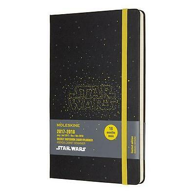 Moleskine 18 Monate Star Wars Wochen Notizkalender 2018, A5 Hard Cover, Sch ...