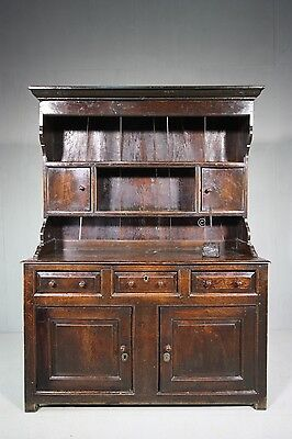 18th Century Antique Oak North Wales Dresser.