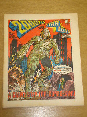 2000Ad #97 British Weekly Comic Judge Dredd *