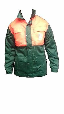 Oregon 108529 Classic Green Protective Chainsaw Jacket Class 0 *clearance* Small