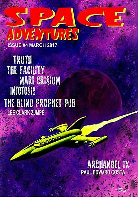 198 SPACE ADVENTURES #4 - Science Fiction tales of Astro Adventure!