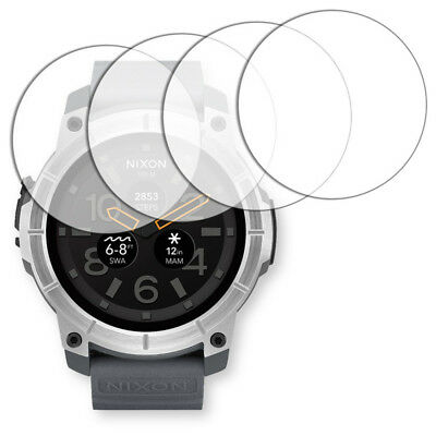 4x Golebo Crystal screen protector for Nixon The Mission