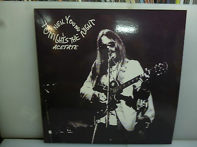 Neil Young-Tonight's The Night Acetate.-White Vinyl Lp-New.sealed