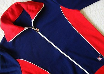 JACKET Flli CAMPAGNOLO SPORT  vintage 80's made in Italy  tg 48-.S/M circa Rare