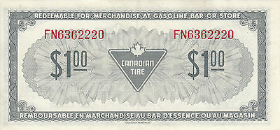 Canada Canadian Tire Store 1973 1.00$ FN63 RED